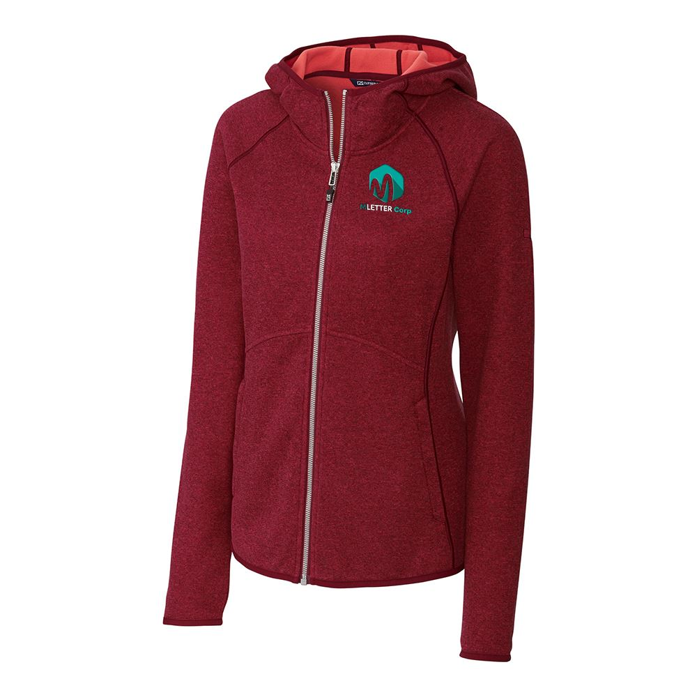 Cutter & Buck® Women's Mainsail Hooded Jacket - Personalization Available