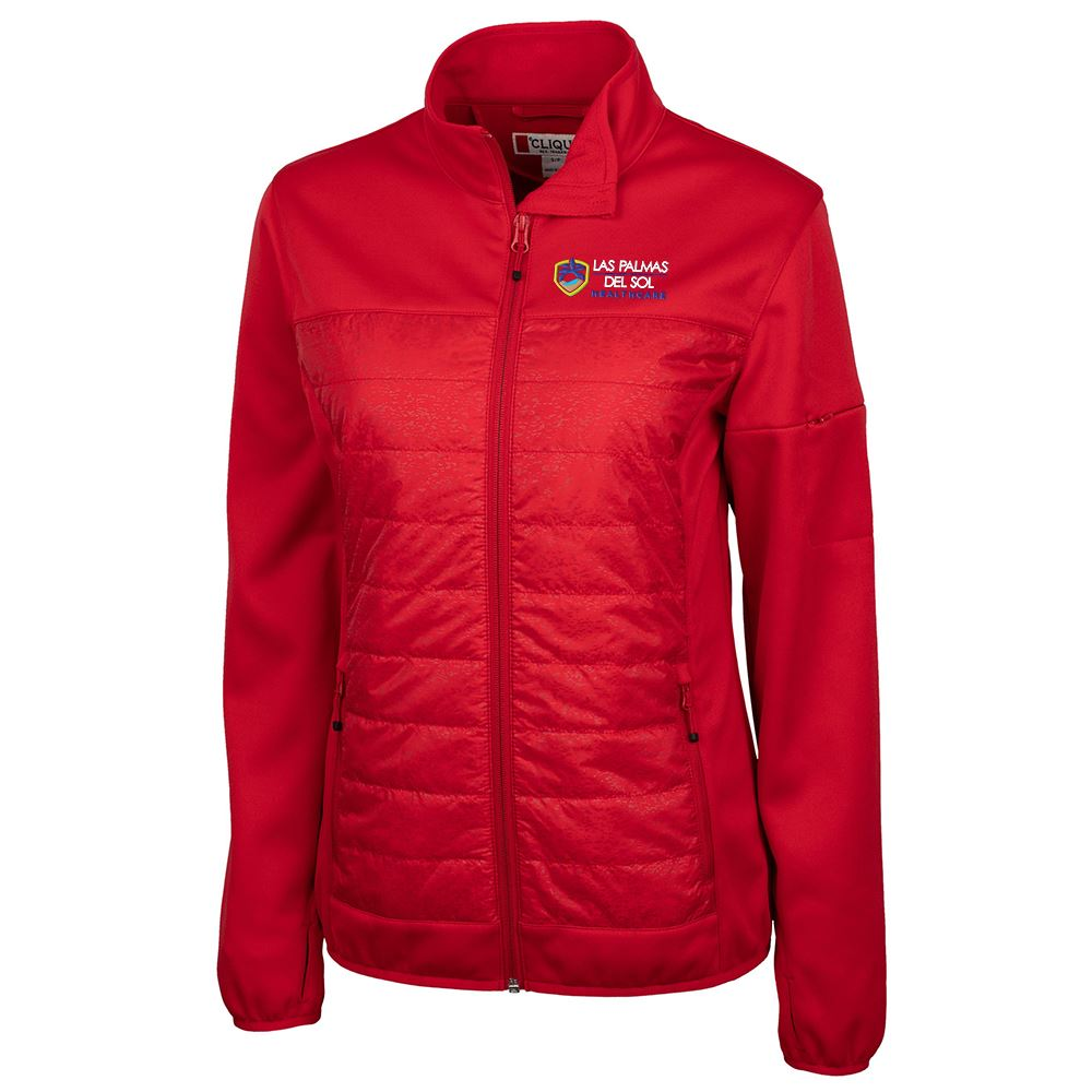 Clique® by Cutter & Buck® Women's Fiery Hybrid Jacket - Personalization Available