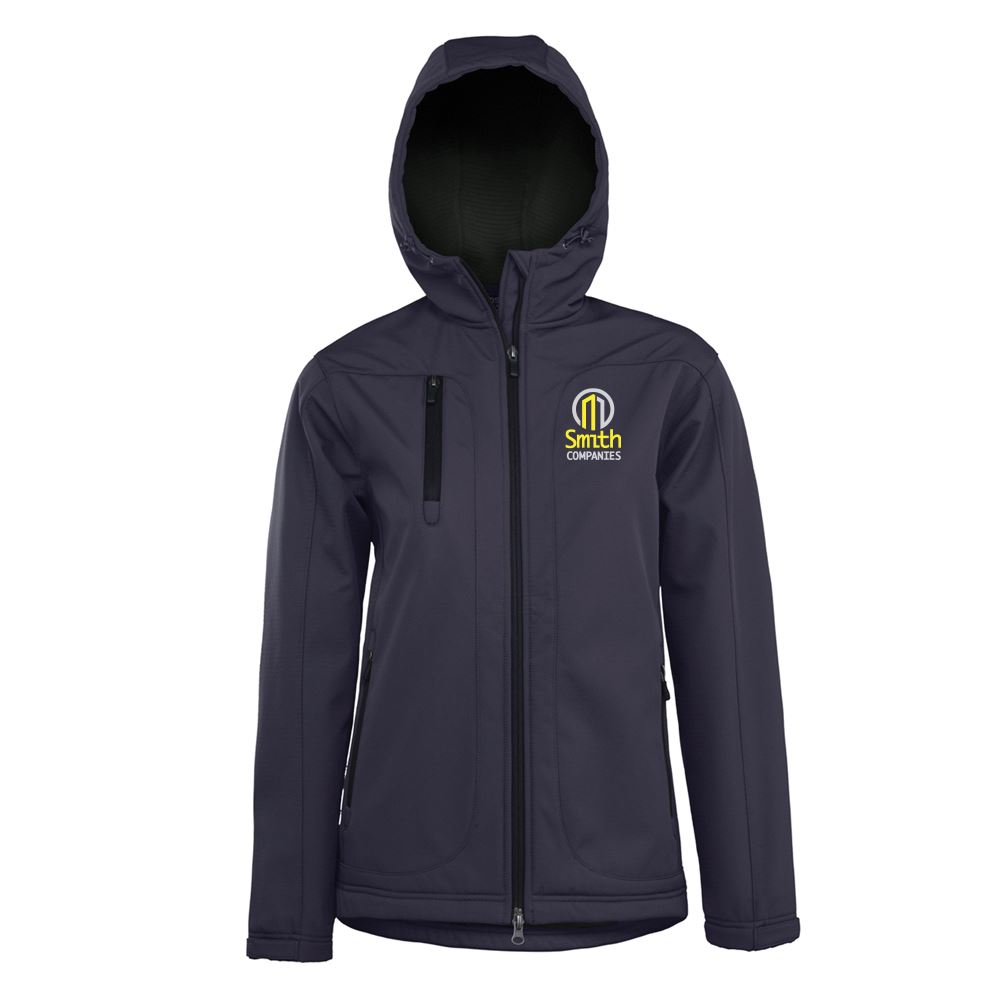 Fossa Apparel� Taiga Women's Honeycomb-Shell Hooded Jacket - Personalization Available