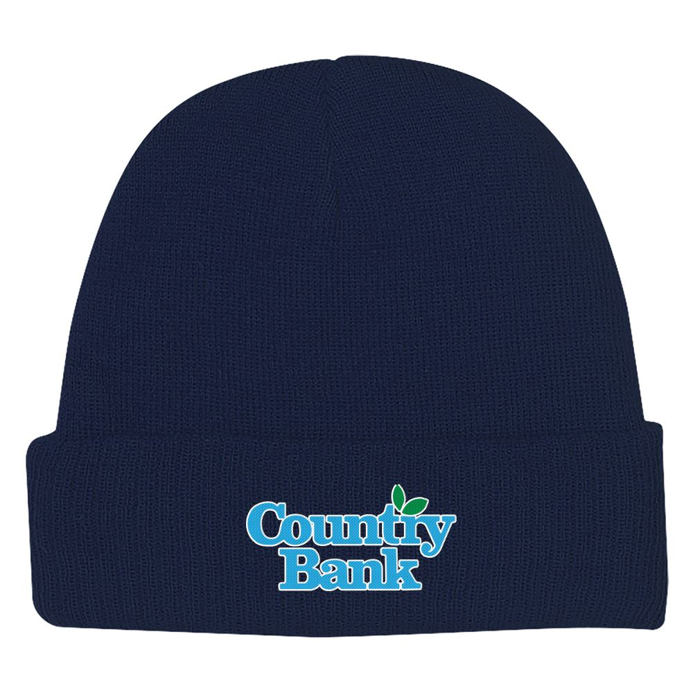 Knit Beanie With Cuff - Personalization Available