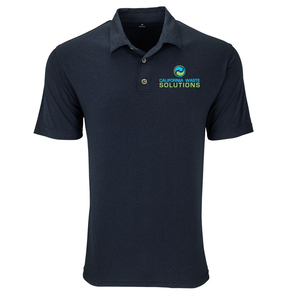 Vantage® Vansport™ Men's Eco Planet Polo - Embroidery Personalization Available