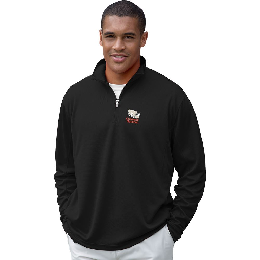 Vansport Men's Mesh 1/4-Zip Tech Pullover - Personalization Available