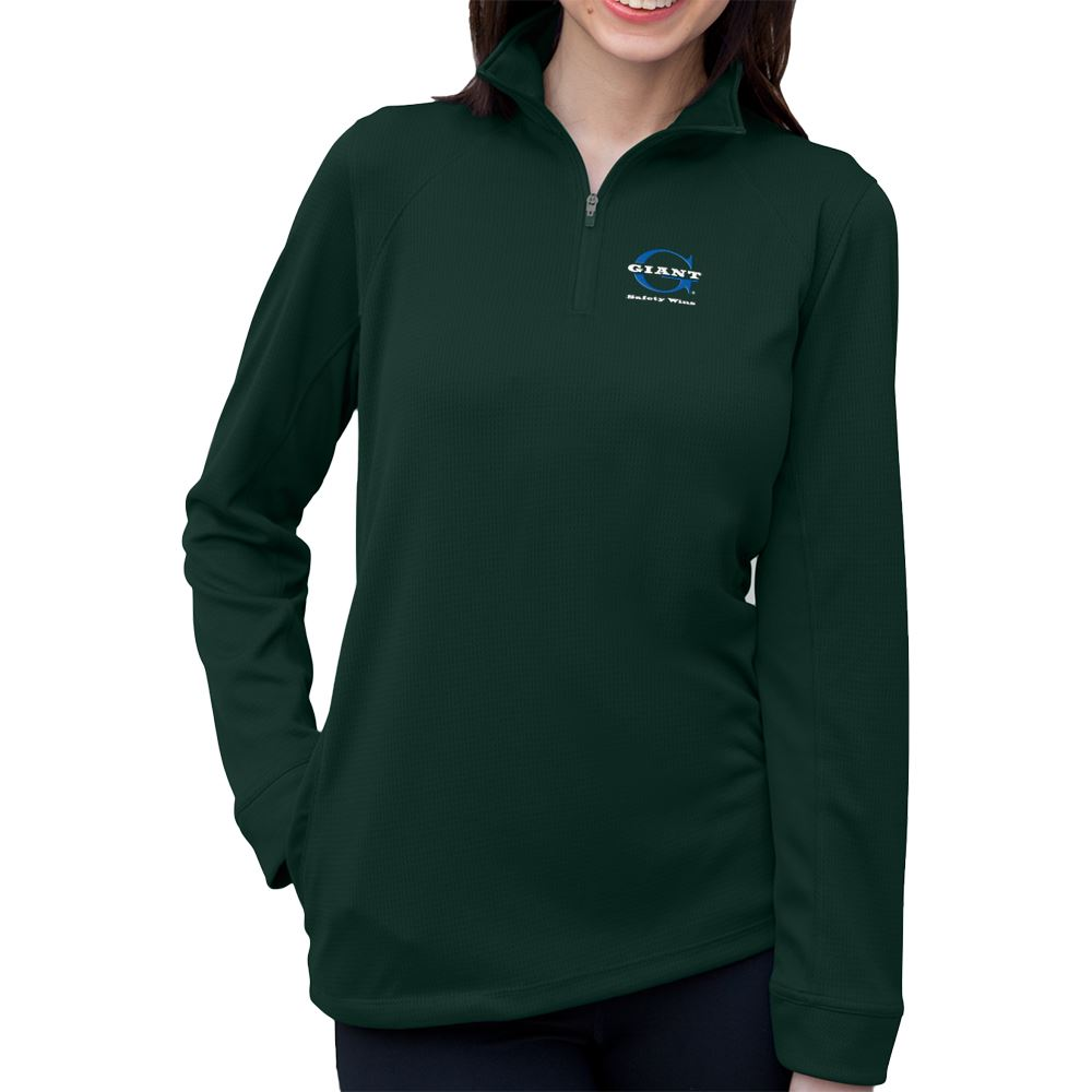 Vansport Women's Mesh 1/4-Zip Tech Pullover - Personalization Available