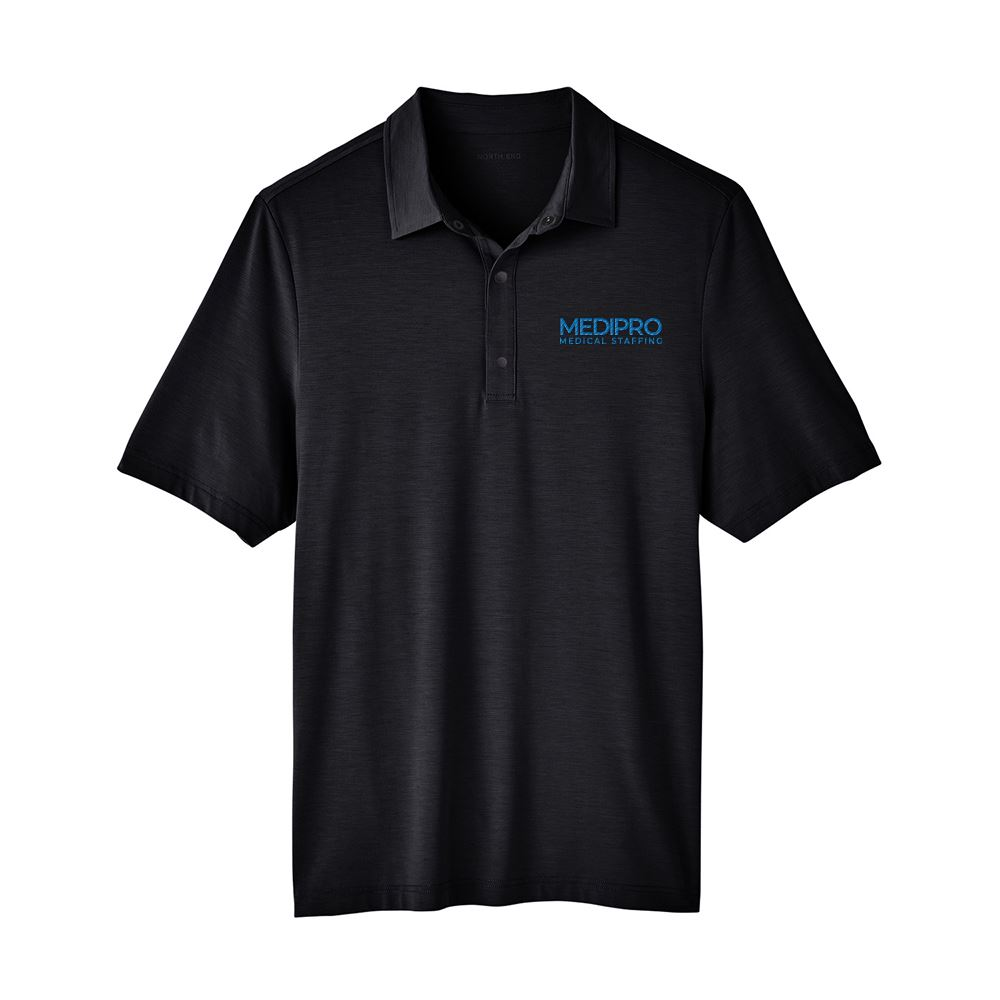 North End Men's Jaq Snap-Up Stretch Performance Polo - Personalization Available