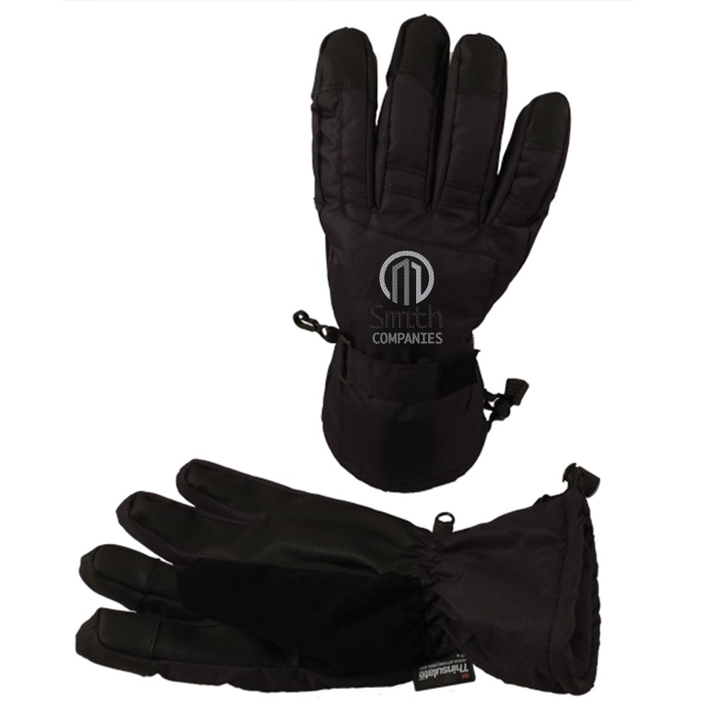 Women's Touchscreen Ski Gloves - Personalization Available