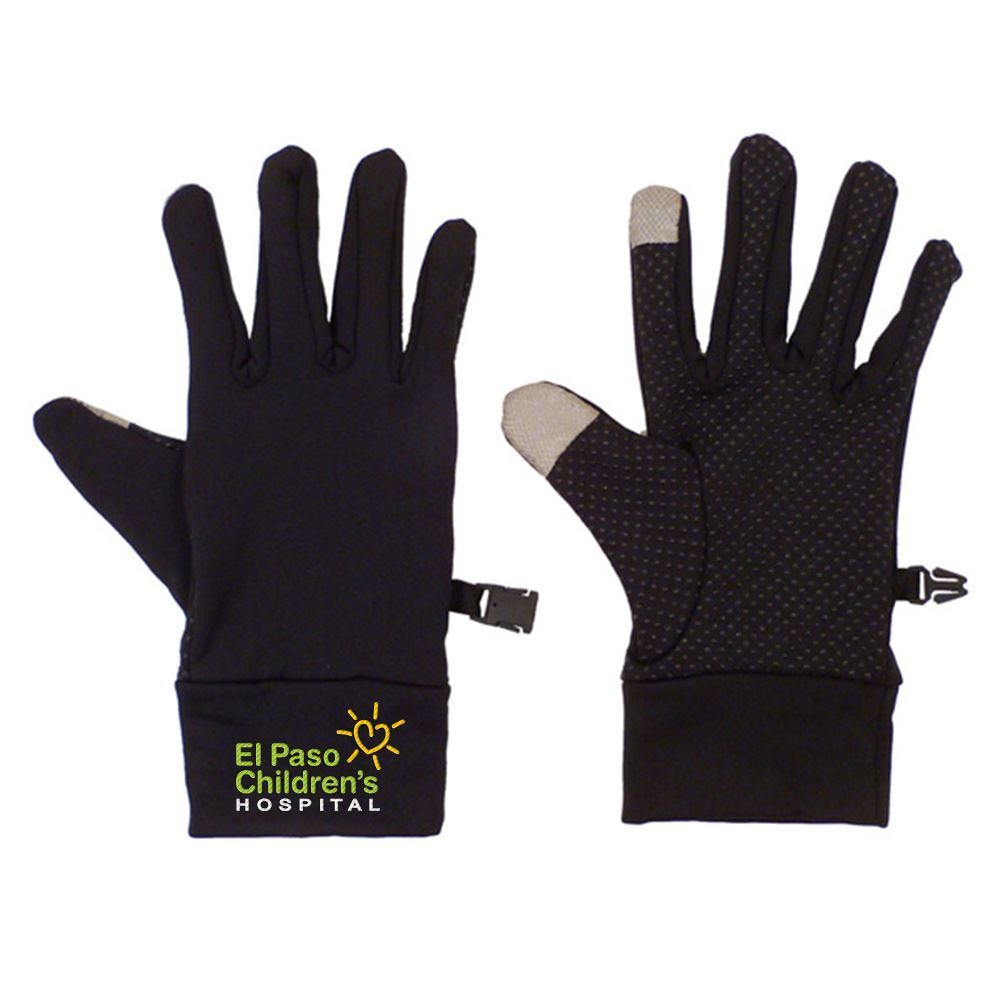 Touchscreen Spandex Gloves - Personalization Available