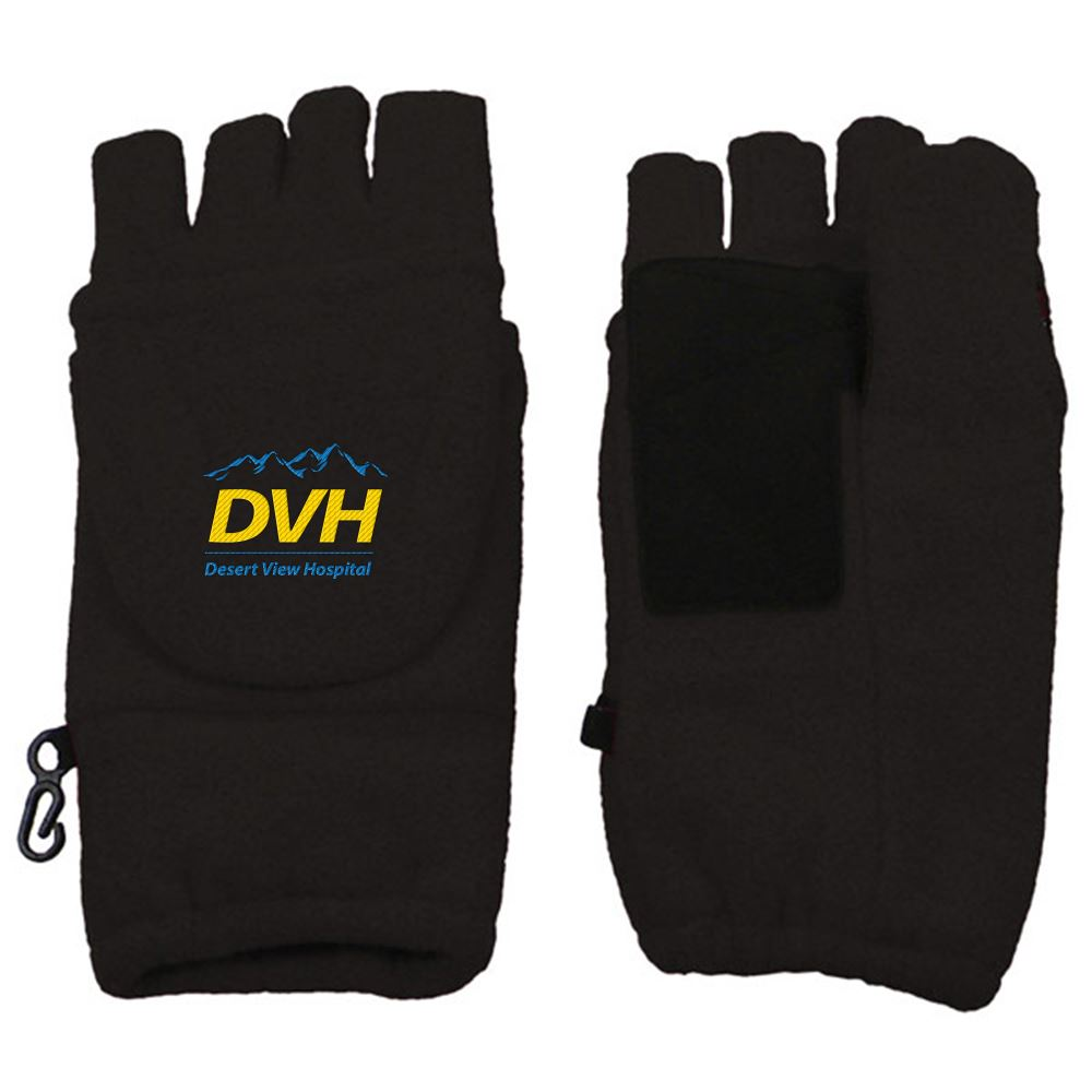 Fingerless Mitten With Flap - Personalization Available