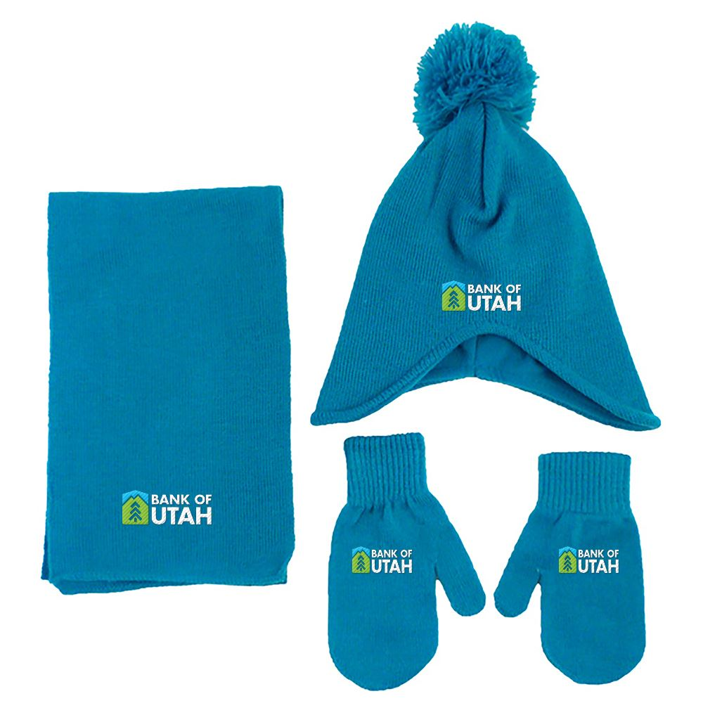 Children Knit Set - Personalization Available