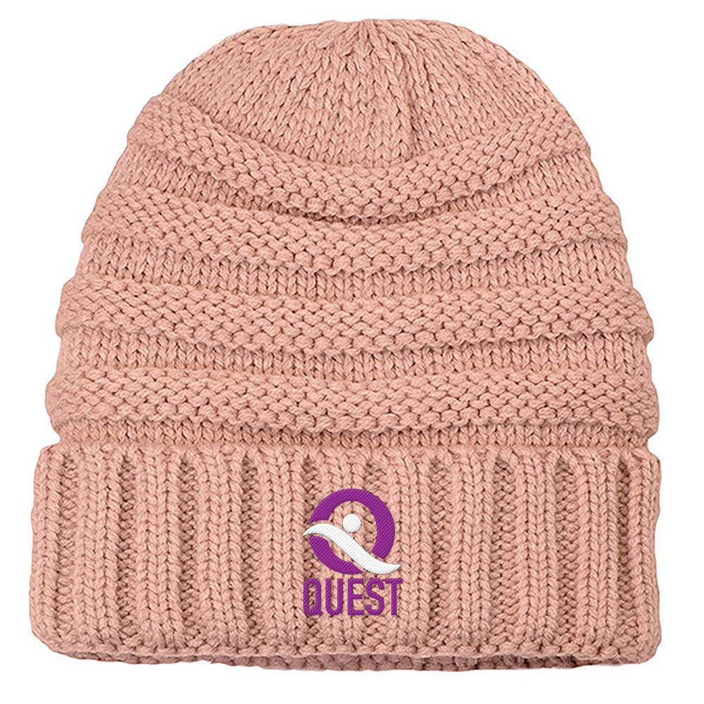 Cici Knit Beanie - Personalization Available
