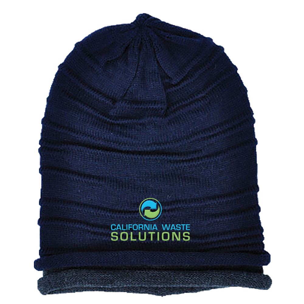 Zephyr Slouchy Beanie - Personalization Available