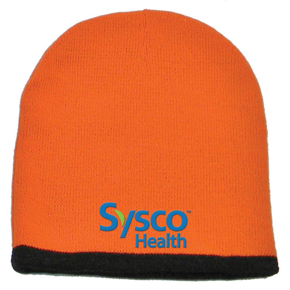 Two-Color Beanie - Personalization Available