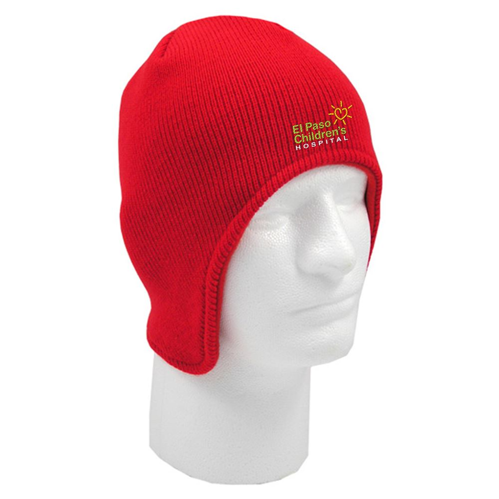 Beanie With Flap - Personalization Available