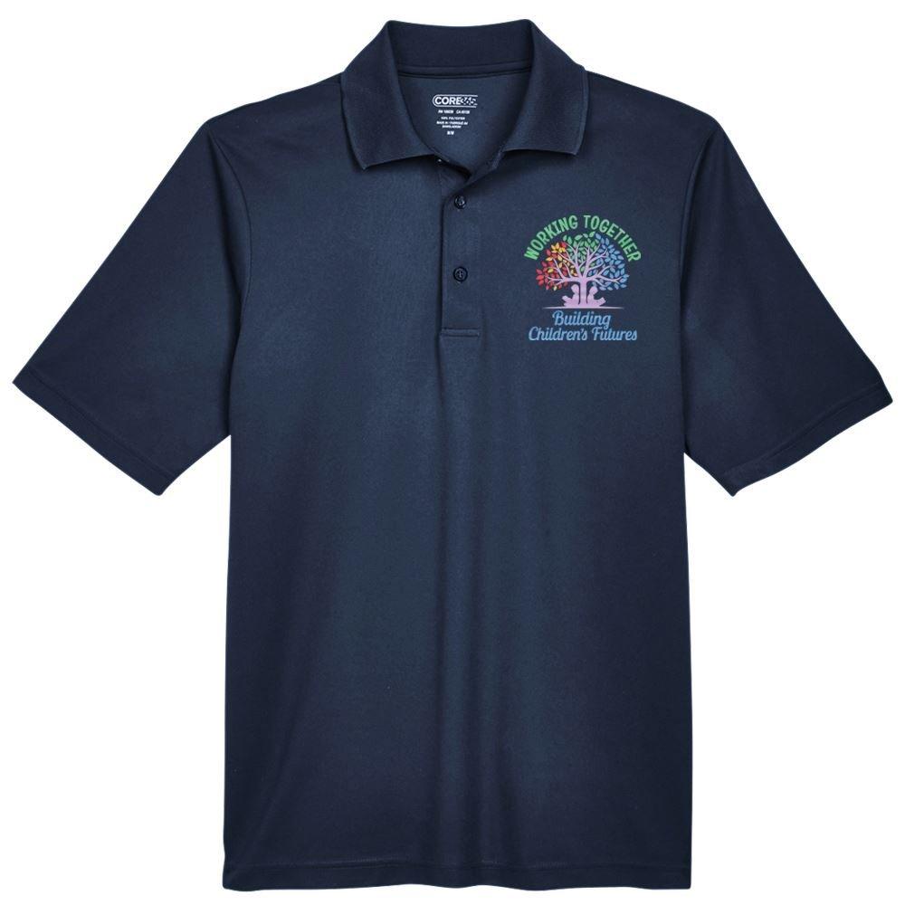 Teachers & Staff Appreciation Core 365™ Men's Pique Polo - Personalization Available
