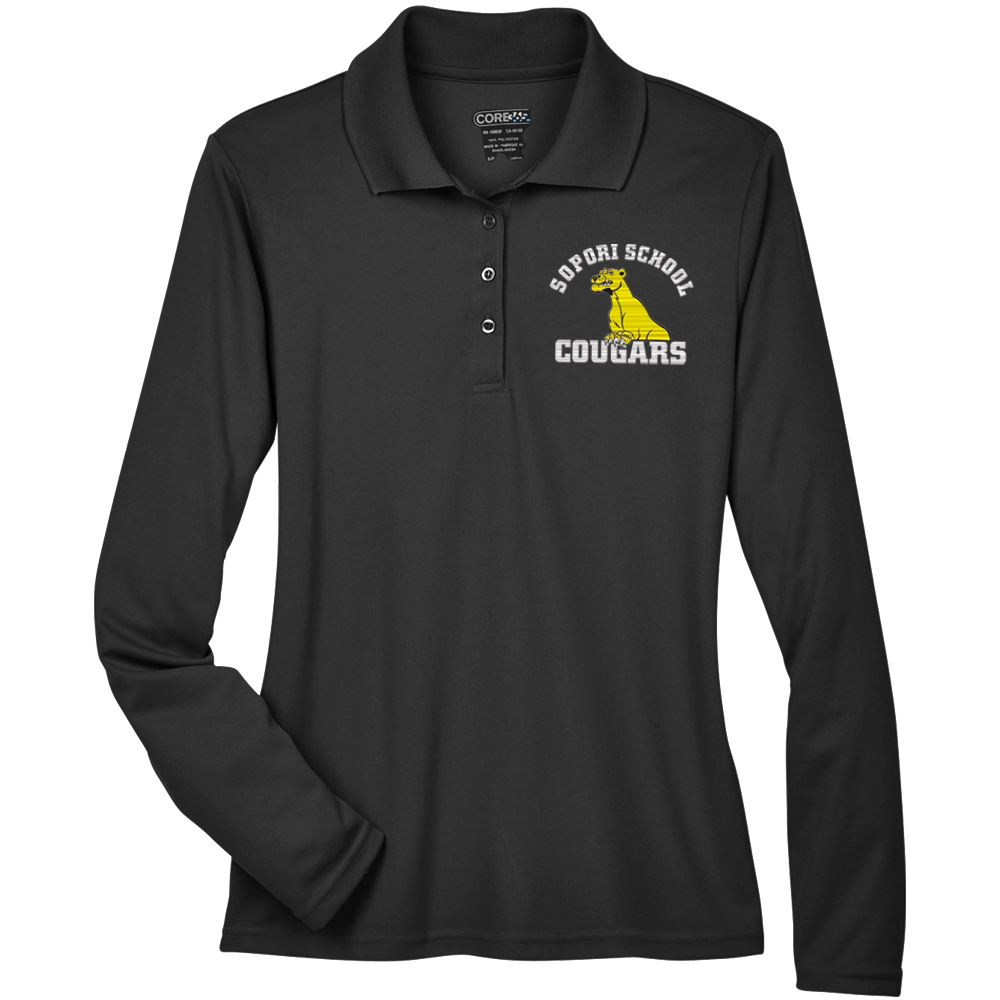Core 365™ Women's Long-sleeve Pique Polo - Personalization Available