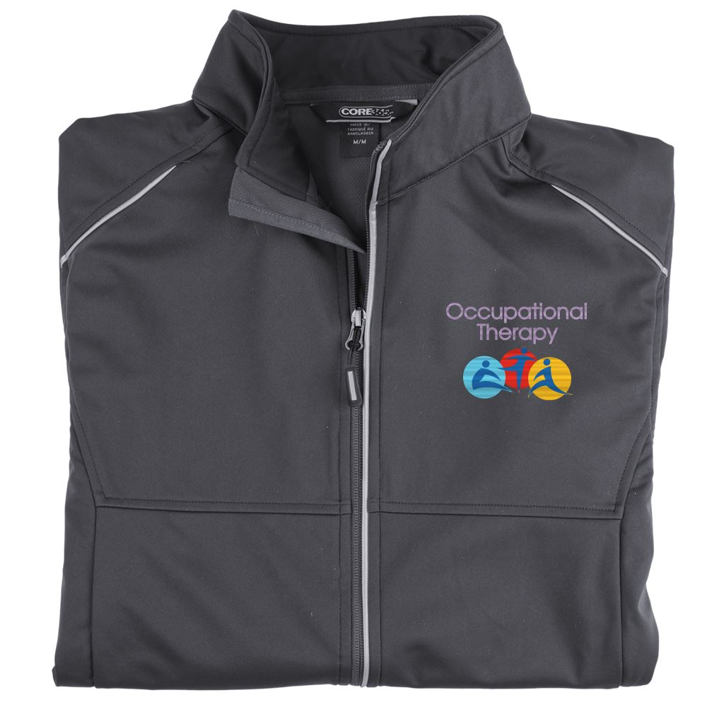 Rehab & Physical Therapy Men's Team Core 365 Three-Layer Knit Full-Zip Jacket - Personalization Available
