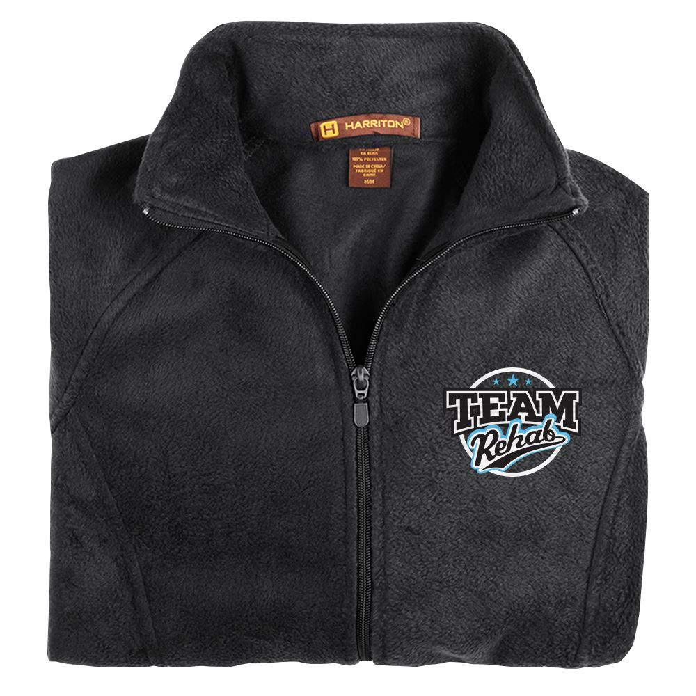 Rehab & Physical Therapy Women's Harriton Fleece Full-Zip Jacket - Personalization Available