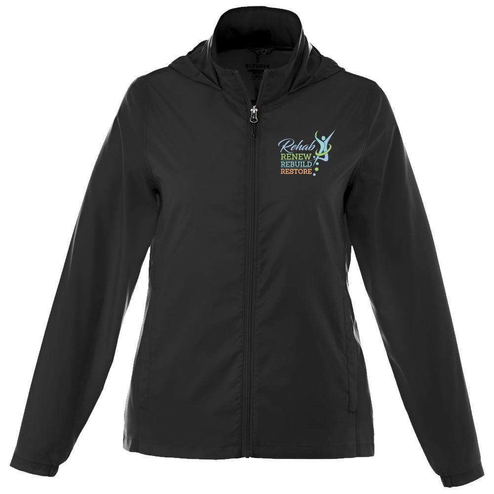 Rehab & Physical Therapy Women's Trimark Darien Packable Lightweight Jacket - Personalization Available