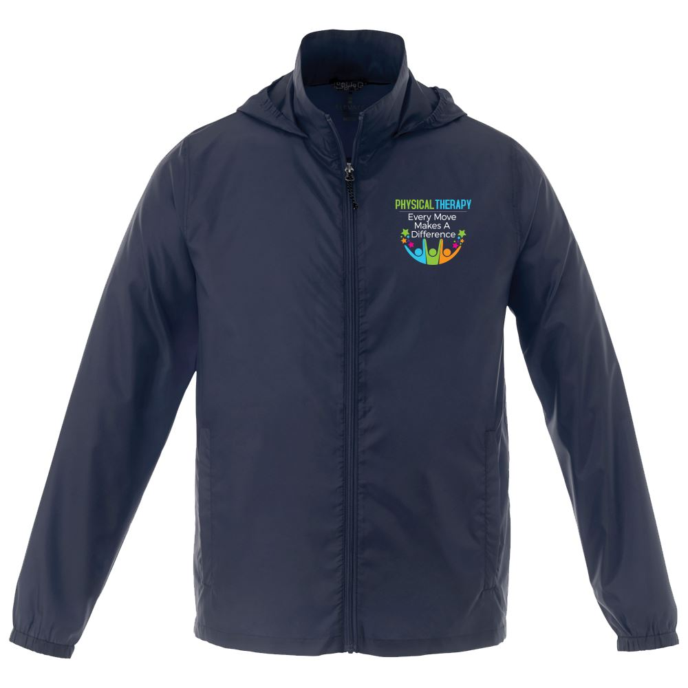 Rehab & Physical Therapy Men's Trimark Darien Packable Lightweight Jacket - Personalization Available