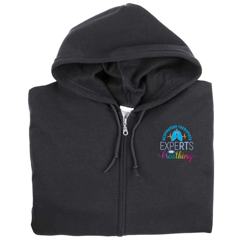 Respiratory Care Gildan ® Full-Zip Hooded Sweatshirt - Personalization Available