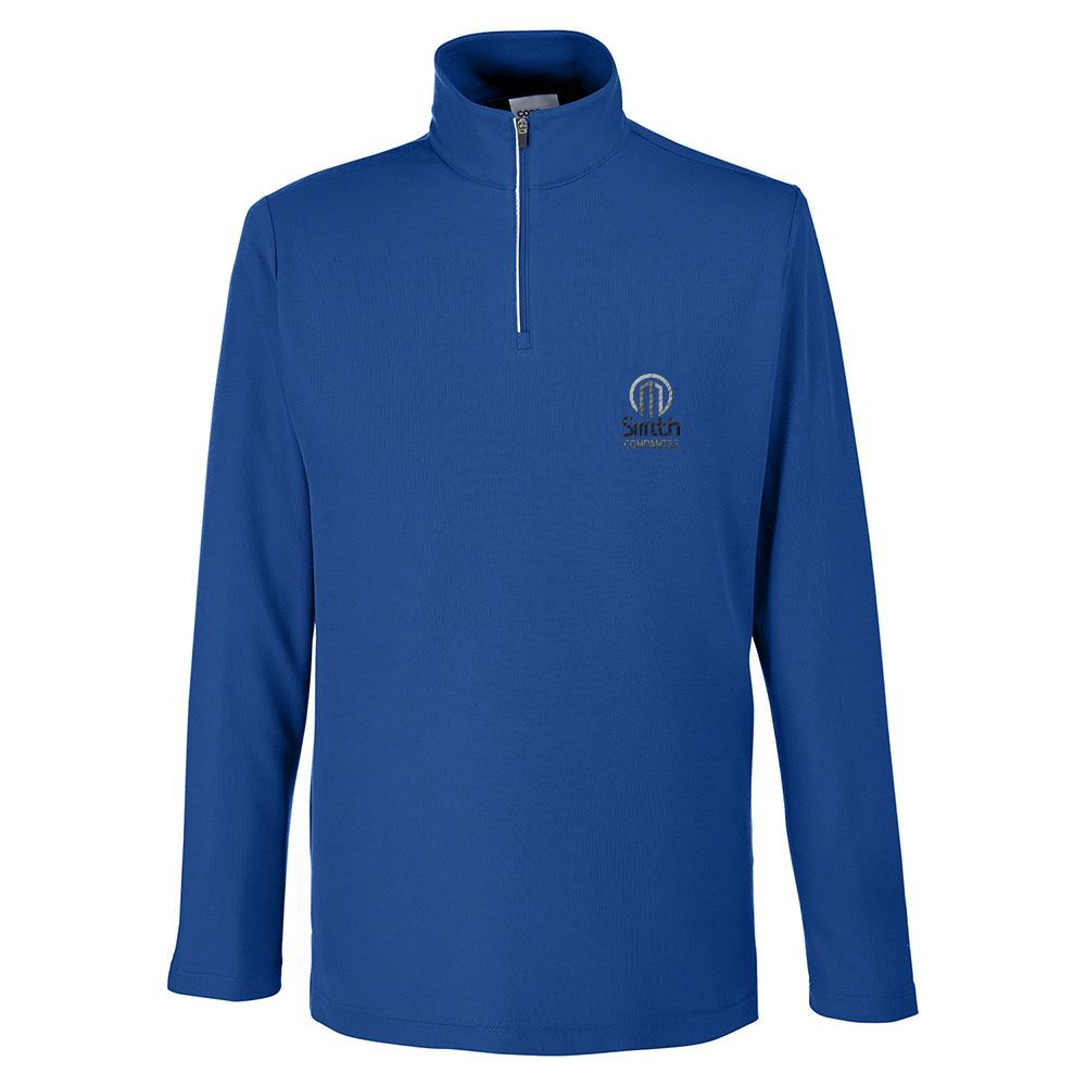 Core 365® Men's Fusion Chromasoft™ Pique Quarter-Zip - Embroidery Personalization Available