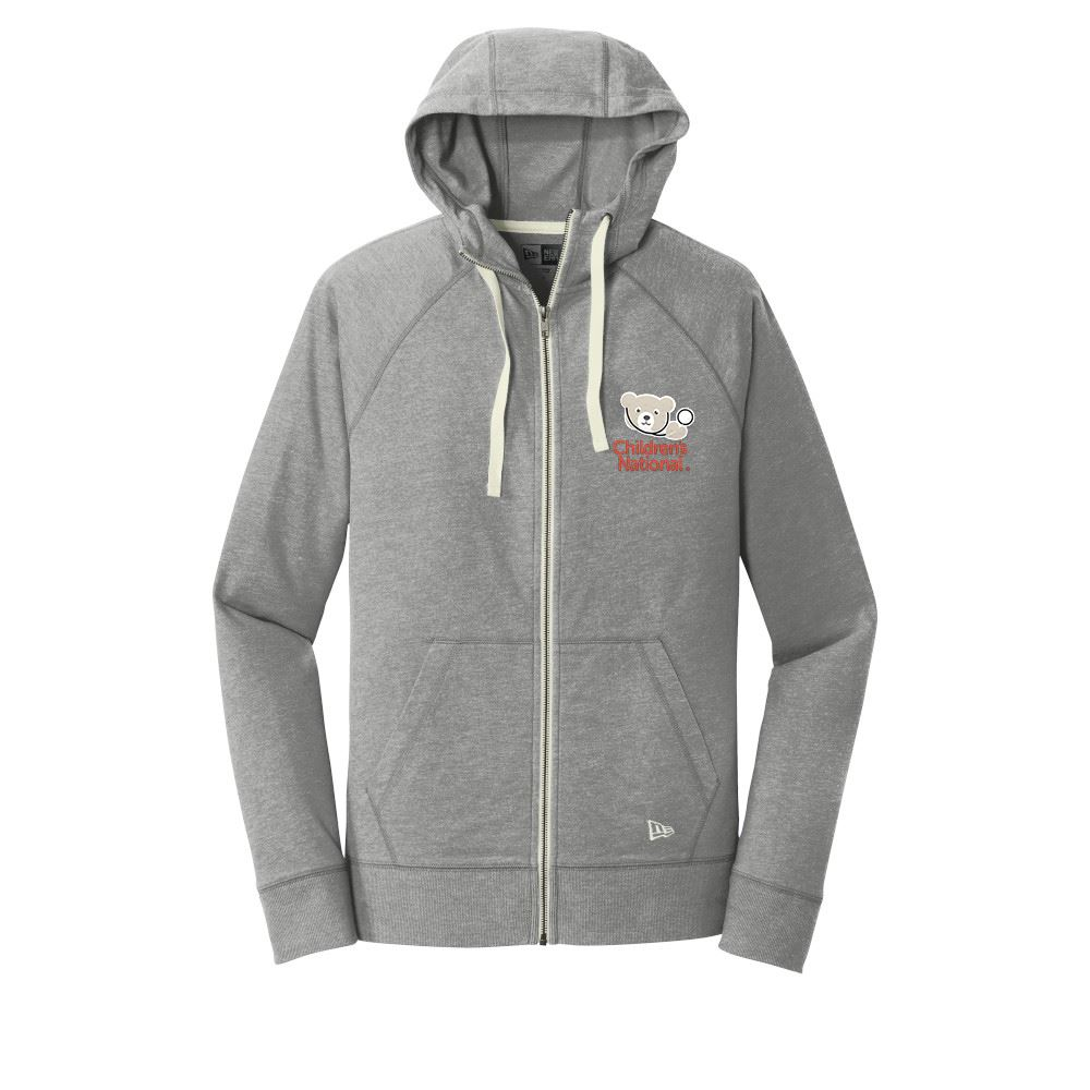 New Era® Men's Sueded Cotton Blend Full-Zip Hoodie - Personalization Available