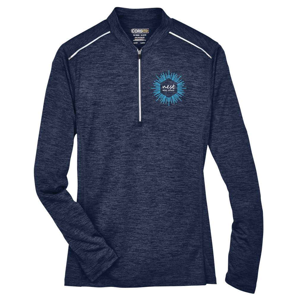 Core 365® Women's Kinetic Performance Quarter-Zip - Embroidery Personalization Available