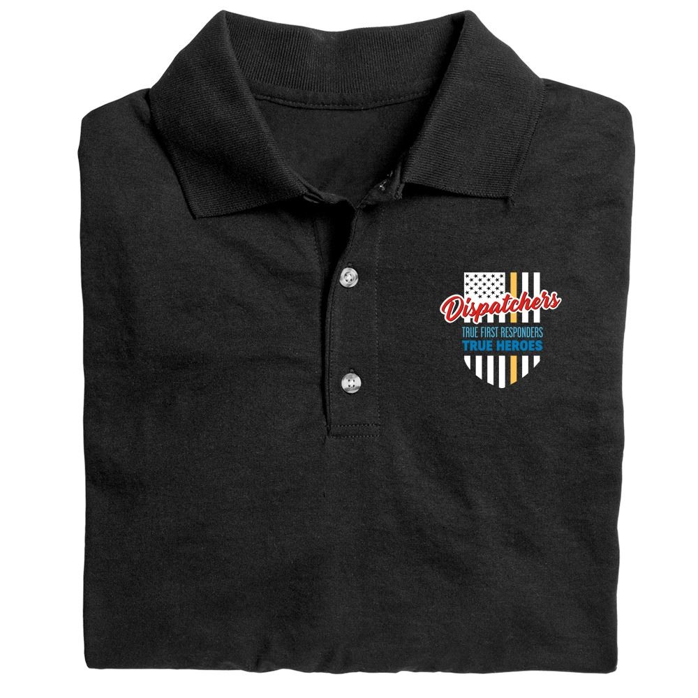 Dispatchers: True First Responders, True Heroes Gildan� DryBlend Jersey Polo With Optional Personalization -�Embroidery