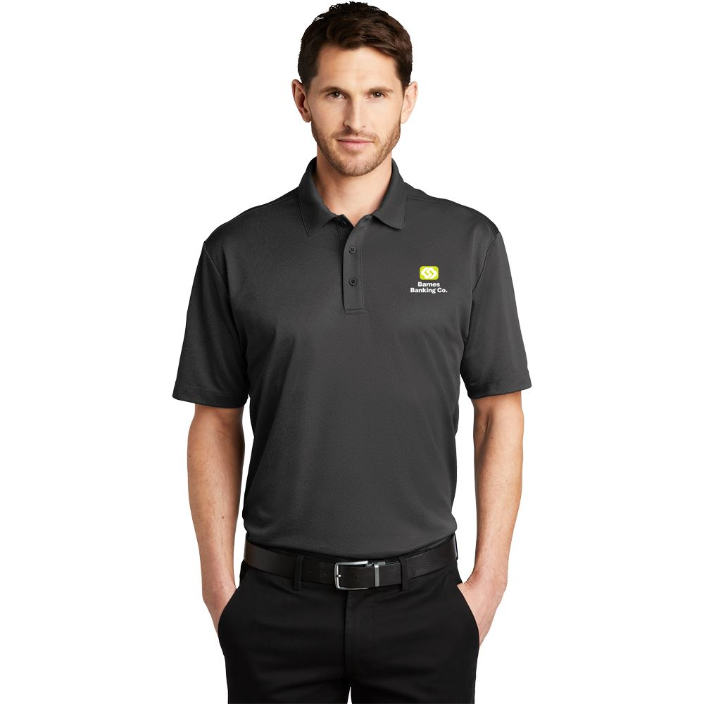 Port Authority® Men's Heathered Silk Touch™ Performance Polo - Embroidered Personalization Available