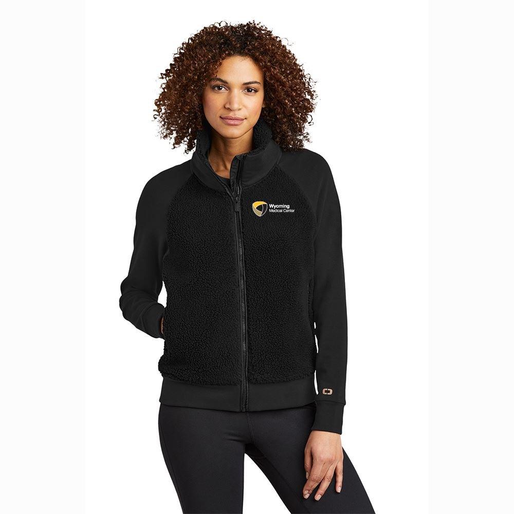 OGIO® Ladies Luuma Sherpa Full-Zip - Personalization Available