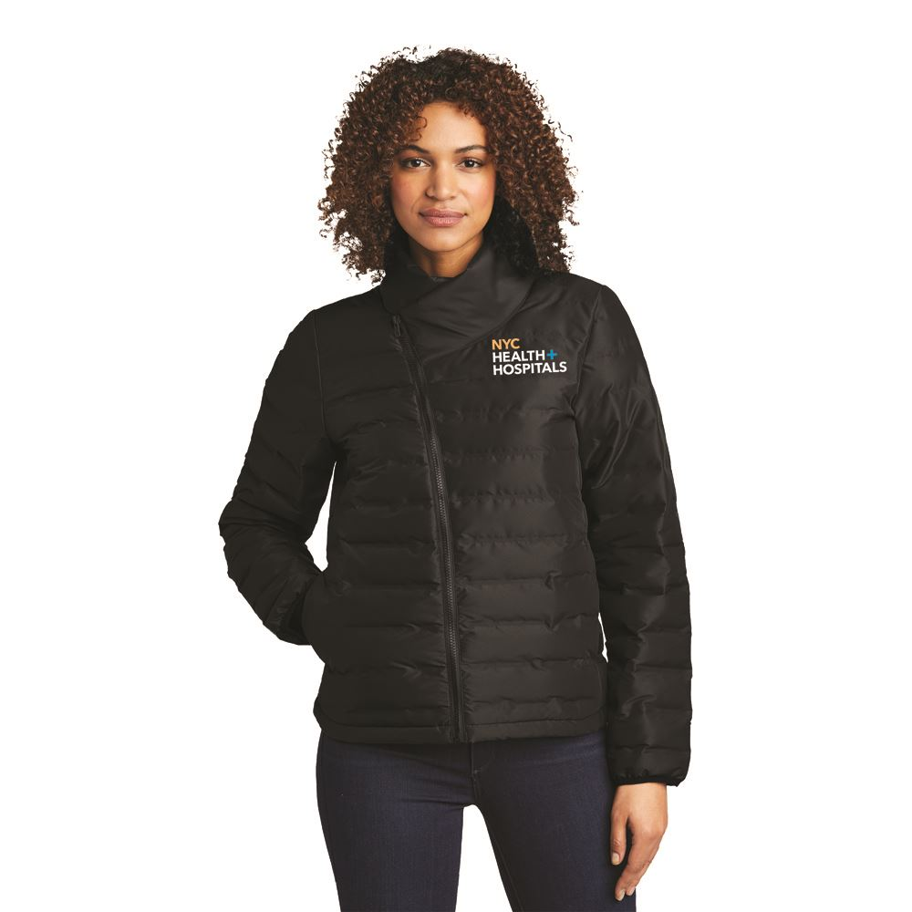 OGIO® Women's Hybrid Street Puffer Jacket- Embroidery Personalization Available
