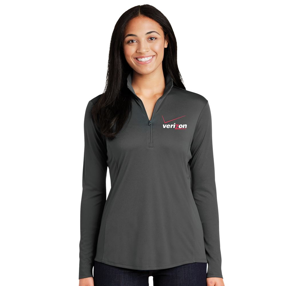 Sport-Tek® Women's PosiCharge® Competitor™ Quarter Zip Pullover - Embroidery Personalization Available