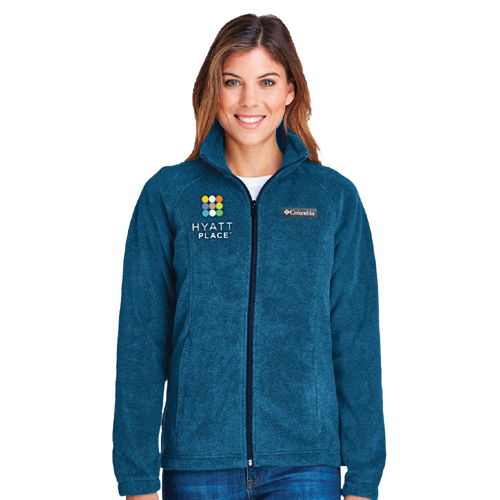 Columbia® Women's Benton Springs ™ Full-Zip Fleece Jacket- Embroidered Personalization Available