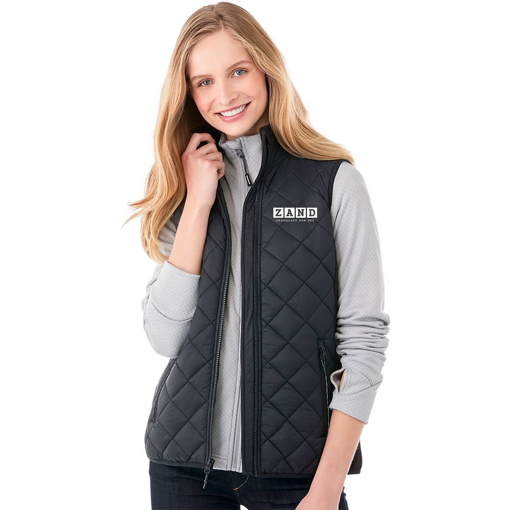 2-In-1 Women's Vest With Heat Panel Functionality - Embroidery Personalization Available