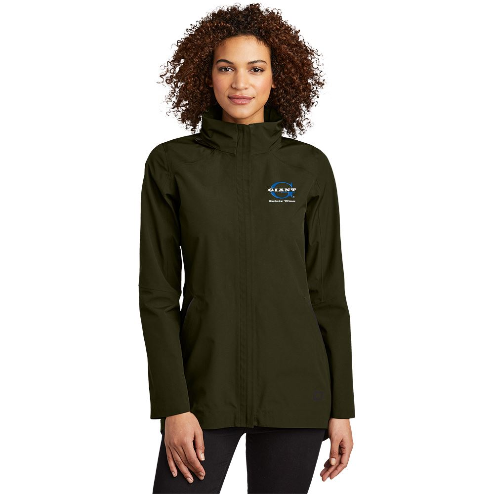 OGIO® Women's Utility Modern Waterproof Parka Jacket - Personalization Available