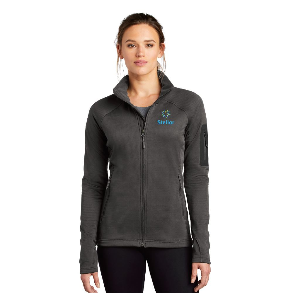 The North Face® Women's Mountain Peaks Full-Zip Fleece Jacket - Embroidered Personalization Available