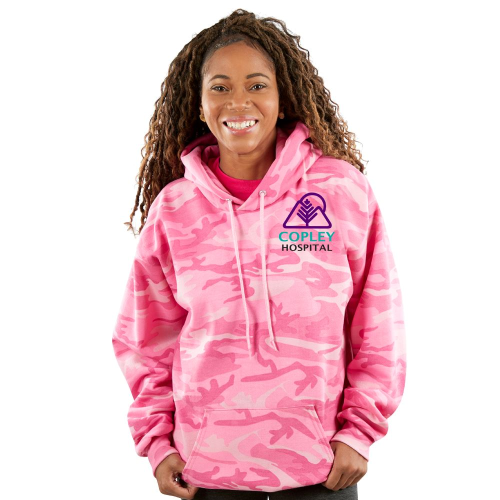 Everyday Camo Ultimate Fleece Unisex Pullover Hooded Sweatshirt - Embroidered Personalization Available