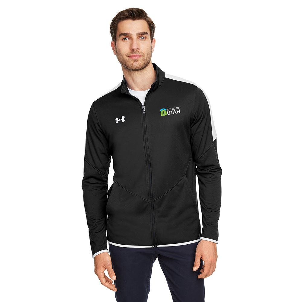 Under Armour® Men's Luxe Tech Wicking Knit Jacket- Embroidery Personalization Available