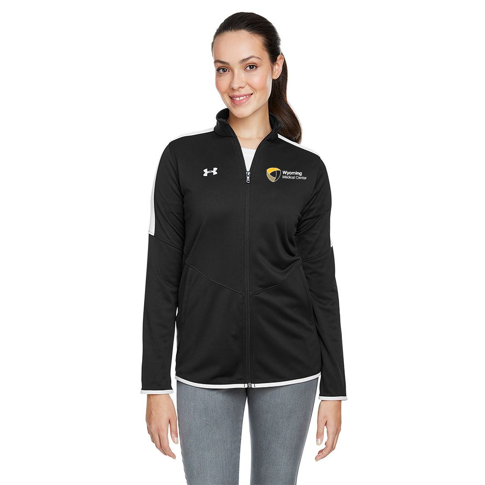 Under Armour® Women's Luxe Tech Wicking Knit Jacket - Embroidery Personalization Available