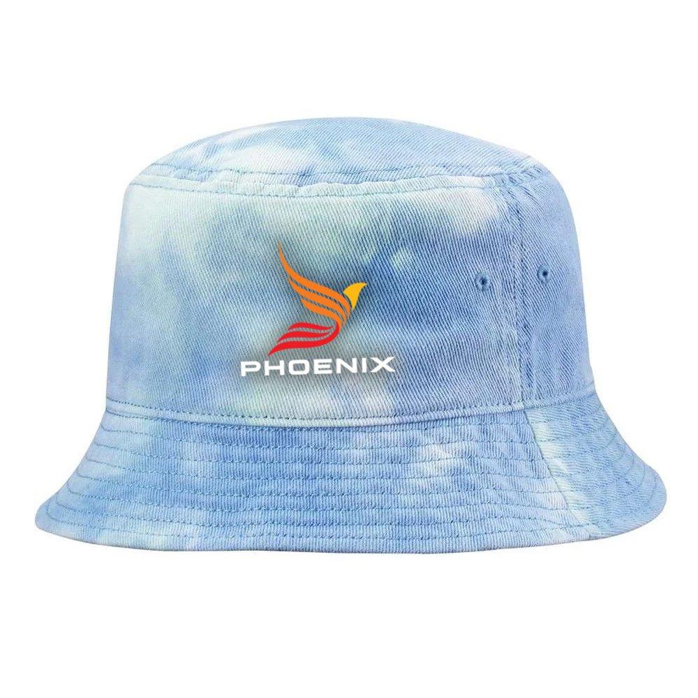 Santa Monica Tie-Dye Bucket Cap - Embroidery Personalization Available