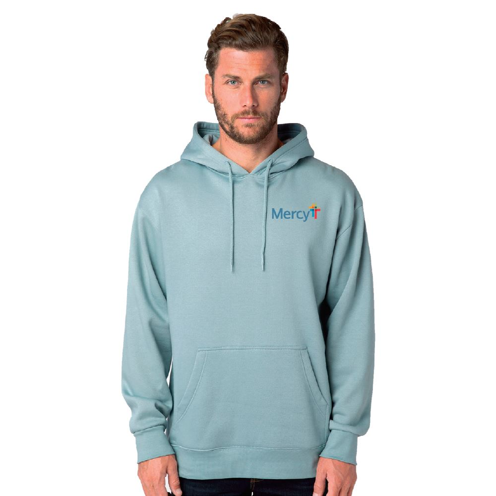 Positive Wear Unisex Classic Lightweight Pullover Hoodie - Embroidered Personalization Available