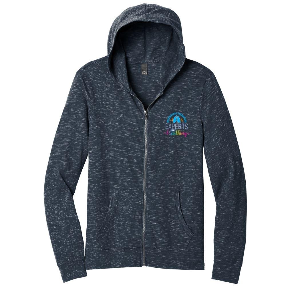District® Men's Medal Full-Zip Lightweight Hoodie Sweatshirt