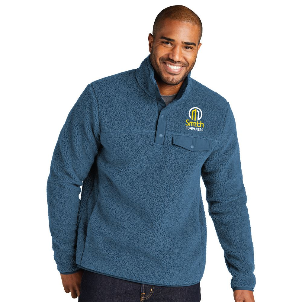 Dylan Unisex Snap Pullover - Embroidered Personalization Available