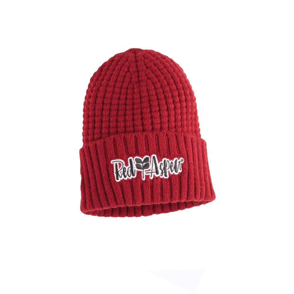 Premium Waffle Knit Beanie With Cuff - Embroidered Personalization Available