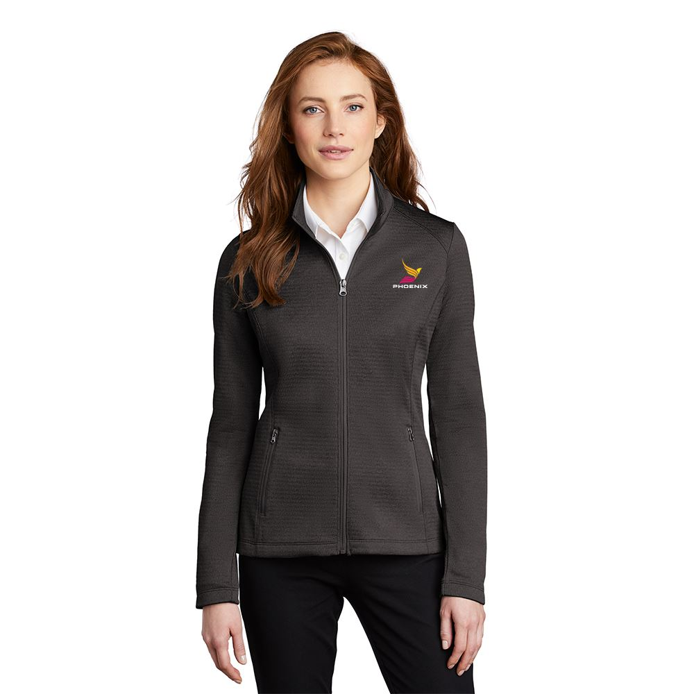 Executive Women's Diamond Heathered Fleece 1/4-Zip Pullover - Embroidered Personalization Available