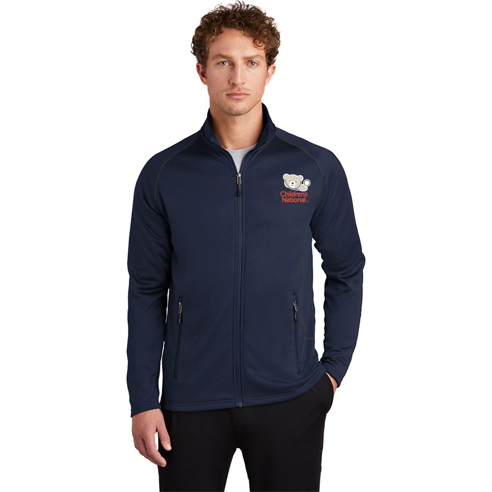 Eddie Bauer® Men's Ultra-Smooth Fleece Full-Zip - Embroidered Personalization Available