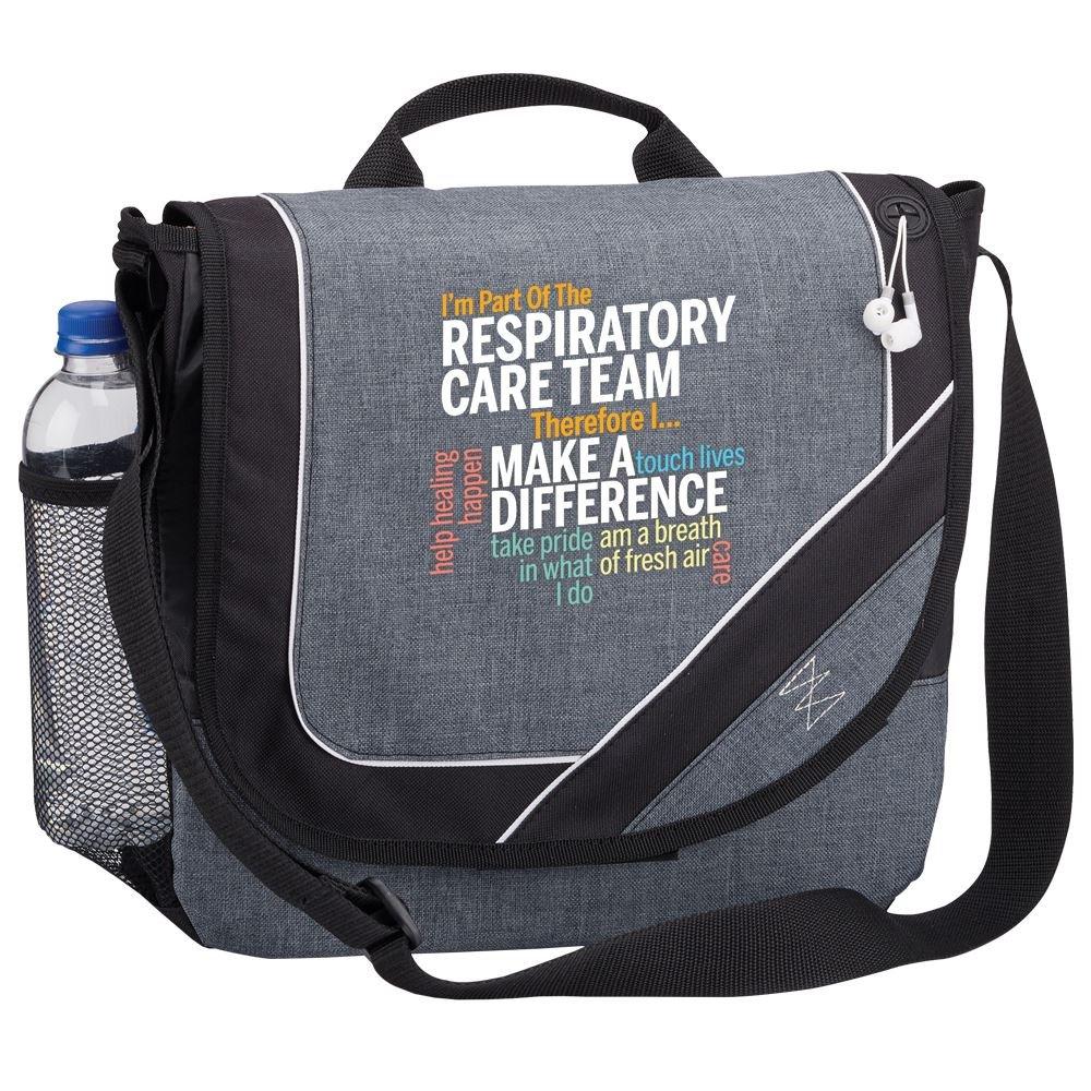 I'm Part Of The Respiratory Care Team Therefore I... Portland Messenger/Briefcase Bag