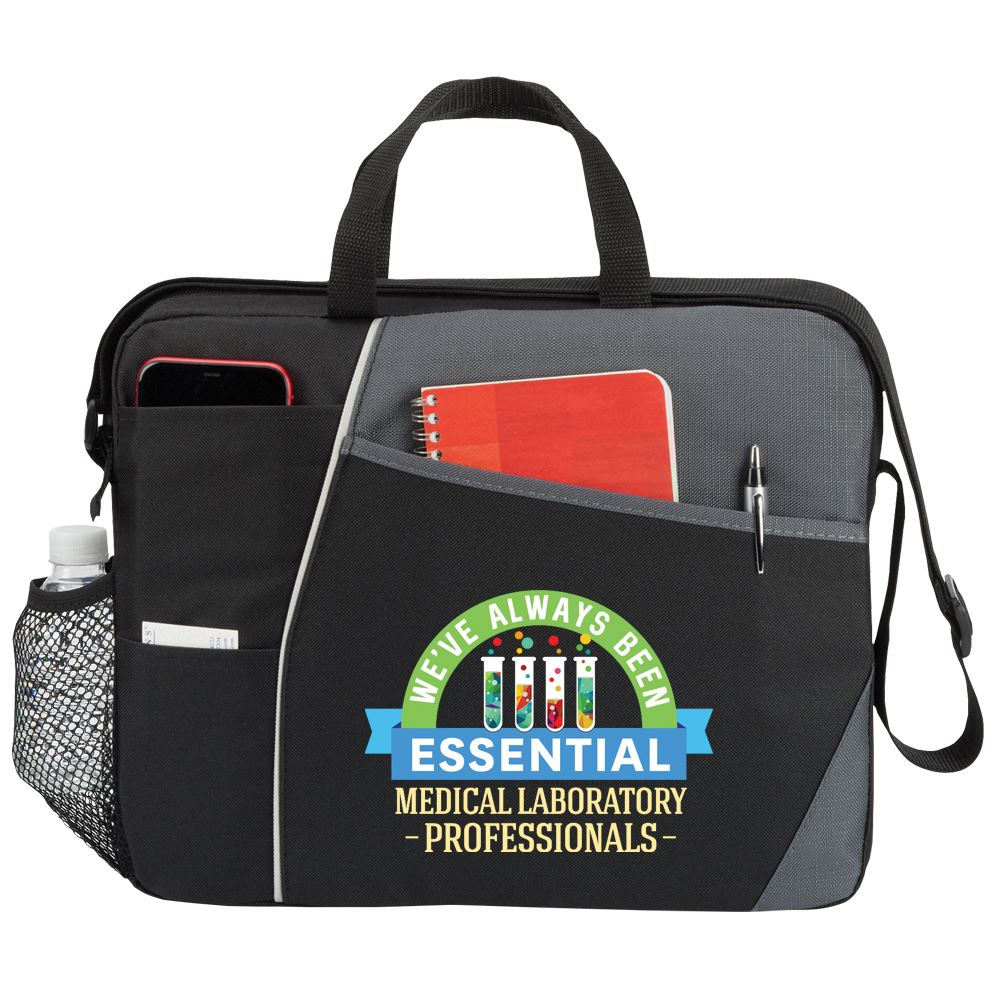 Medical Laboratory Professionals: We've Always Been Essential Concord Briefcase Bag