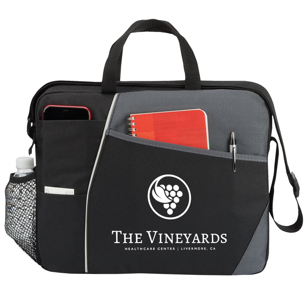 Concord Briefcase Bag - Personalization Available