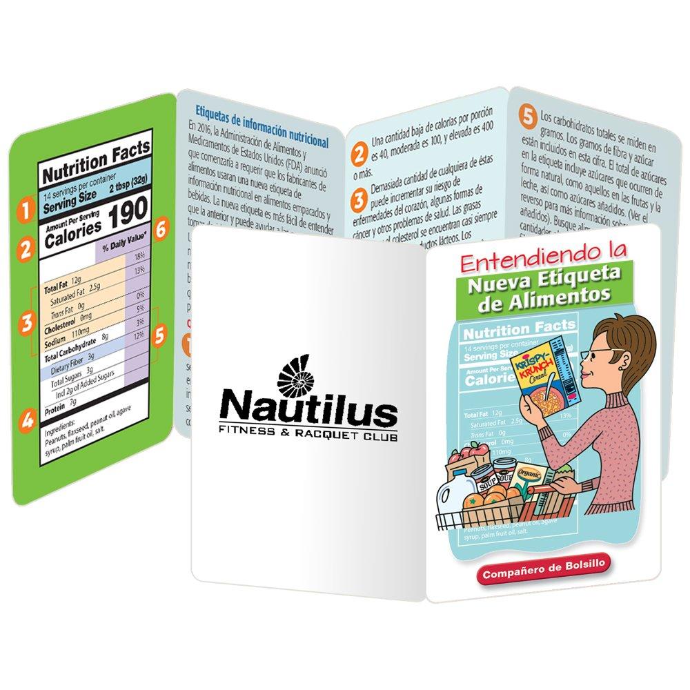 Entendiendo Las Etiquetas de Alimentos Pocket Pal - Personalization Available