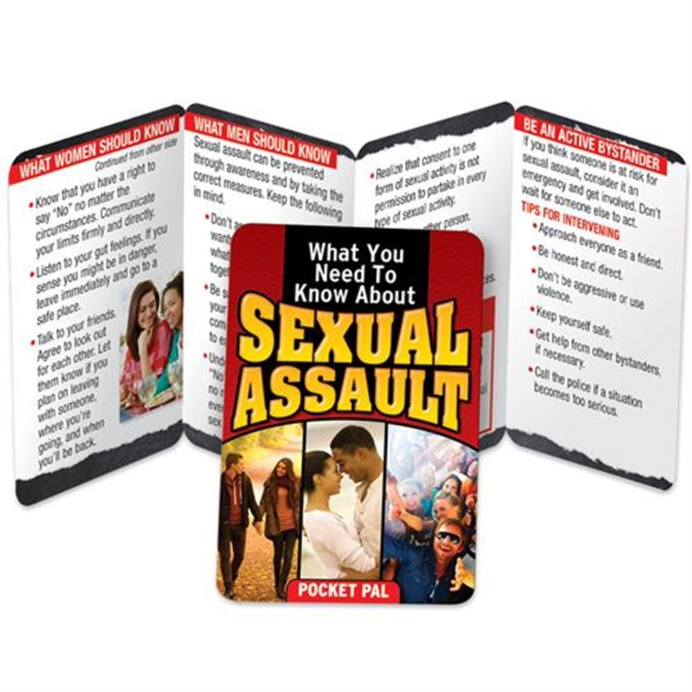 What You Need To Know About Sexual Assault Pocket Pal - Personalization Available